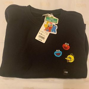 Other - Kaws KidsUniqlo Sesame Street sweatshirt